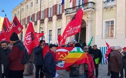 Manovra: pensionati in piazza,stop tagli