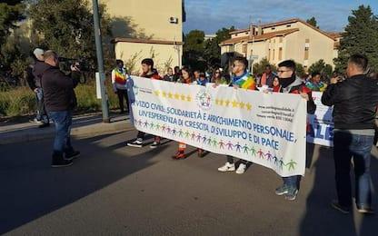 In 2000 a 32/a Marcia della pace