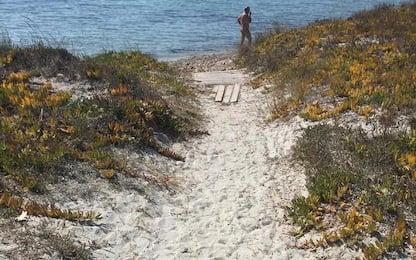 Spiaggia Putzu Idu vietata ai disabili