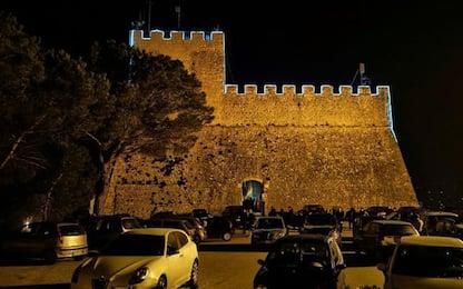 Vandali in azione al Castello Monforte