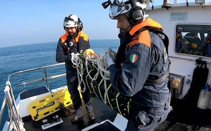 Avaria a gommone, soccorso in mare