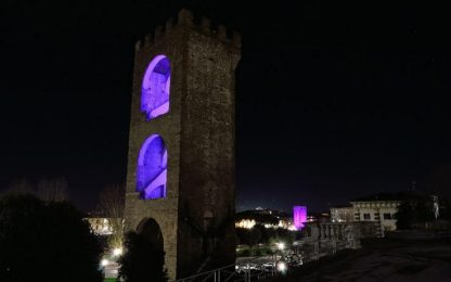 Natale,a Firenze 32 alberi e luci d'arte