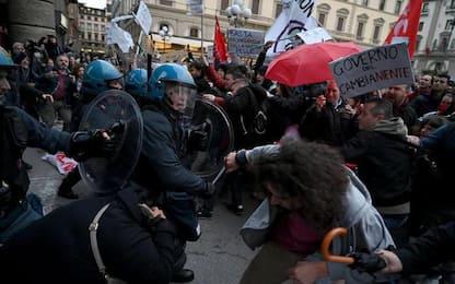 Salvini: manifestazione contro, cariche
