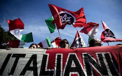 Comizio Casapound a Genova, 300 poliziotti schierati