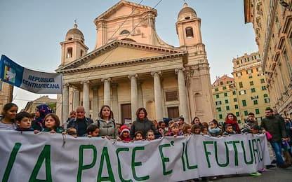 Marcia Pace a Genova, 2500 in corteo