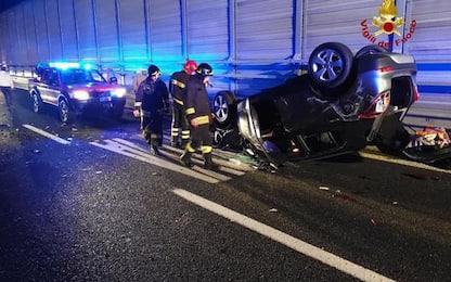 Incidente con sei feriti sull' A12