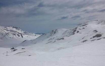 Soccorso sciatore caduto su Gran Sasso