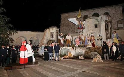 Un presepe per la pace in Mo ad Assisi