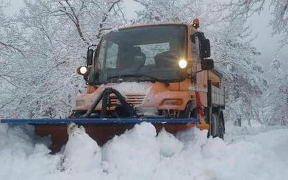Anche 40 centimetri neve nel tifernate