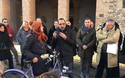 Protesta a Terni a contro l'ordinanza sul decoro urbano