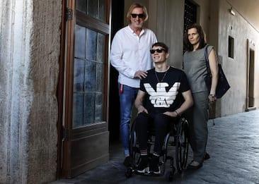"""Manuel Bortuzzo: """"Tra dieci anni mi vedo in piedi, ma spero prima"""""""