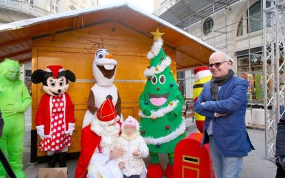 Natale: inaugurata Fiera San Nicolò a Trieste