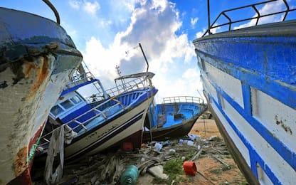 Ambiente, recuperate reti da pesca in mare nelle Eolie