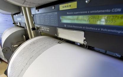 Terremoto, scossa a Sud Salerno di magnitudo 3.2