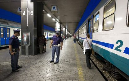 Roma, principio di incendio a Termini: traffico sospeso nella notte