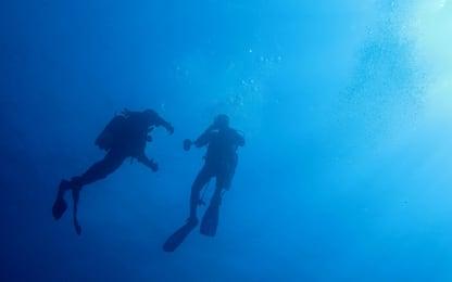 Recuperato un ceppo d'ancora imperiale nelle acque di Portici