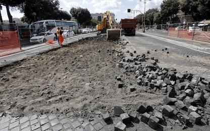 Roma, operazione 'Strade Nuove': online la mappa dei cantieri