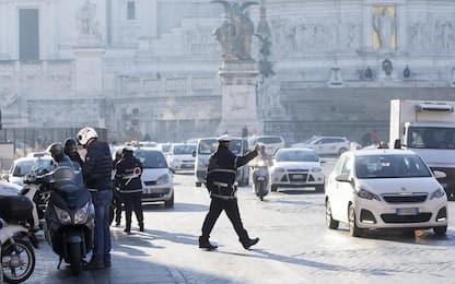 Smog a Roma, stop ai veicoli inquinanti oggi e domani