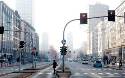 Smog a Milano, restano alti i livelli di polveri sottili
