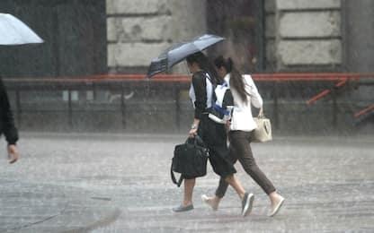 Milano, allerta meteo per il 9 giugno: previsti forti temporali