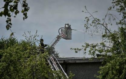 Incendio in area industriale nel Palermitano: a fuoco ex azienda Fiat