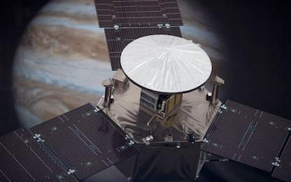 Juno, la sonda della Nasa è a metà della sua missione attorno a Giove