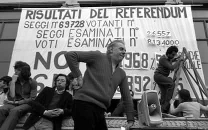 Referendum divorzio, 45 anni fa il No all'abrogazione della legge