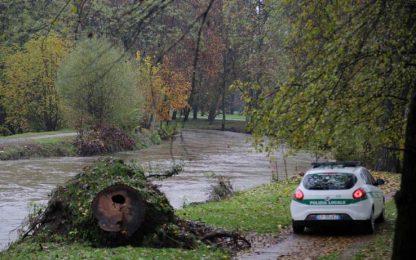 Maltempo, il Comune di Milano monitora i fiumi Seveso e Lambro