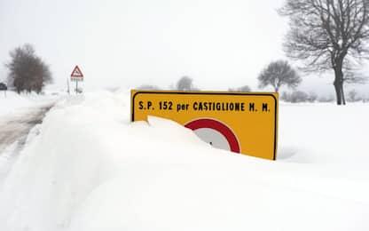 Maltempo, Italia ancora al gelo. La neve arriva al Nord