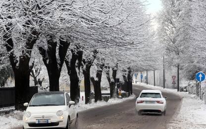Maltempo: ancora gelo e neve, in arrivo nuova perturbazione