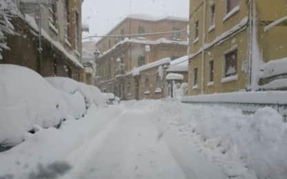 Un morto in Puglia per il maltempo, in Abruzzo 300mila senza luce