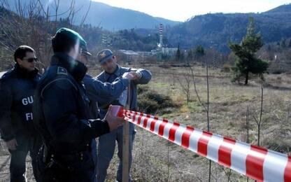 Scoperta nel Casertano una discarica abusiva con rifiuti edili