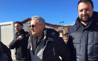 Baggio festeggia 50 anni nelle zone colpite dal terremoto