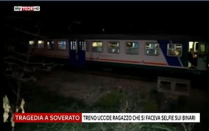 Soverato, bravata sui binari: 13enne travolto e ucciso dal treno