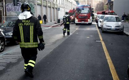 Incendio in un'abitazione a Brusasco, danneggiate tre case