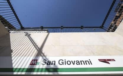 Roma, guasto sulla metro C: chiuso tratto S. Giovanni-Grotte Celoni