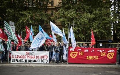 """Autostrade, sciopero dei casellanti: """"Avanti con la protesta"""""""