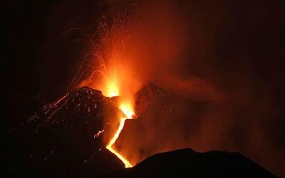 Nuova eruzione dell'Etna