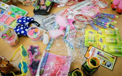 Sequestro di giocattoli pericolosi nel Ragusano