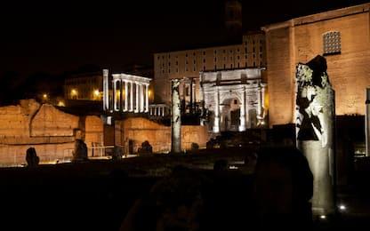 Visite al Foro Romano di notte
