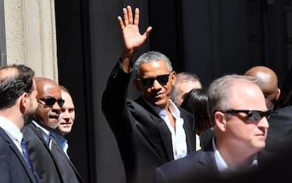 Milano, la visita di Barack Obama