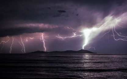 Allerta meteo, piogge forti e grandine su Sicilia e Calabria