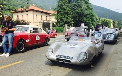 Mille Miglia storica, al via la 90esima edizione tra auto e vip. FOTO