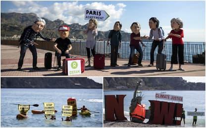 G7, proteste per il clima