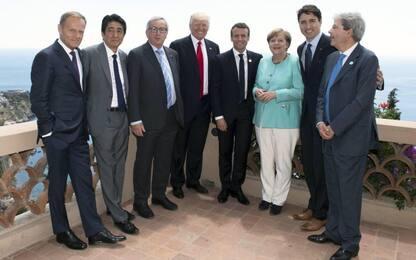G7, ok a lotta a protezionismo. Ma sul clima Trump prende tempo
