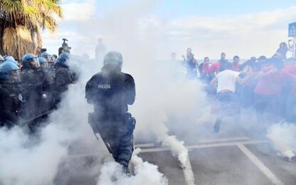 G7 di Taormina, scontri al corteo degli antagonisti