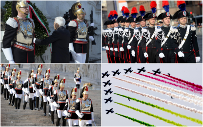 Roma, celebrazioni per il 2 giugno
