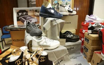Napoli: producevano false scarpe Hogan, 15 denunce