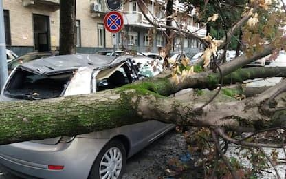 Maltempo, danni e disagi sul Nord e sulla Toscana