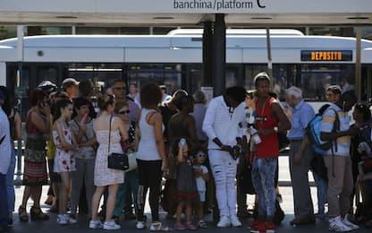 Sciopero di bus e metro, disagi